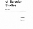 Journal Salesian Studies Volume 10 Issue 2