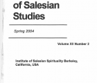 Journal Salesian Studies Volume 12 Issue 2