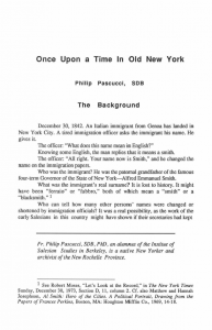 Pascucci-Once_Upon_a_Time_in_Old_New_York-Journal_Salesian_Studies-Vol03_No1-Spring1992