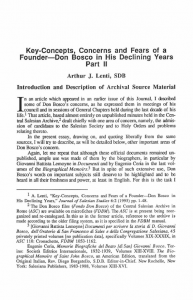 Lenti-Key_Concepts_Concerns_and_Fears_of_a_Founder-Don_Bosco_in_his_Declining_Years_Part_2-Journal_Salesian_Studies-Vol07_No1-Spring1996