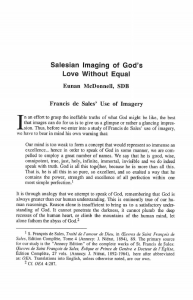 McDonnell-Salesian_Imaging_of_God's_Love_without_Equal-Journal_Salesian_Studies-Vol07_No2-Fall1996