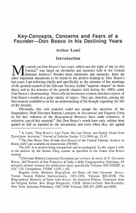 Lenti-Key_Concepts_Concerns_and_Fears_of_a_Founder_Don_Bosco_in_his_Declining_Years-Journal_Salesian_Studies-Vol06_No2-Fall1995