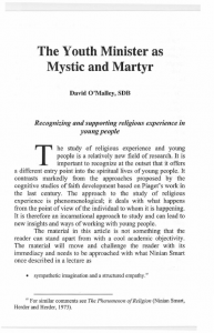 OMalley-The_Youth_Minister_as_Mystic_and_Martyr-Journal_Salesian_Studies-Vol14-Fall2006