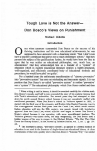 Ribotta-Tough_Love_is_Not_the_Answer-Don_Boscos_Views_on_Punishment-Journal_Salesian_Studies-Vol06_No1-Spring1995
